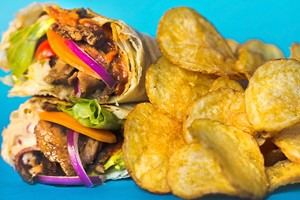 Cido - rifa combo Kebab + Chips com Chocobrown!